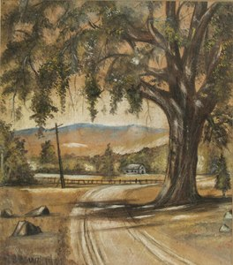 J.H. Brown Painting
