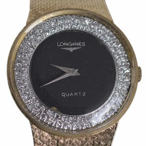 14kt Longines Diamond Watch
