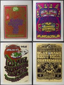 Bill Graham Concert Posters