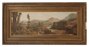 Marie Rey Sander (1857-1945) Painting