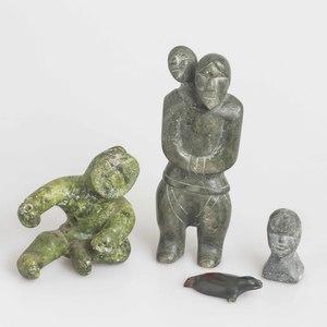 Four Eskimo Carvings