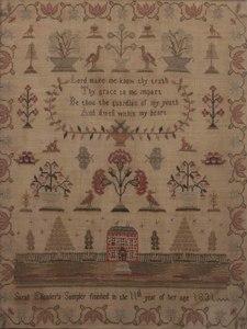 1831 Schoolgirl Sampler