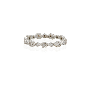 Cathy Waterman Diamond Platinum Ring