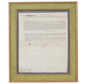 1793 Philadelphia Document