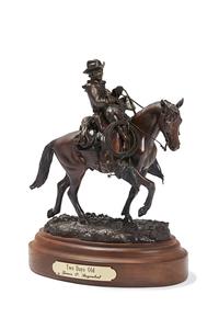 James Regimbal (b. 1949) Western Bronze