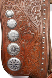 Doc Williams Leather Parade Saddle