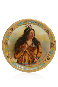 Wieland's Beer Tray, A Western Product