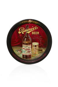 Rainier Tin Beer Tray