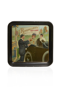 Ruhstaller's Gilt Edge Advertising Beer Tray