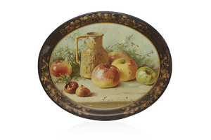 Buffalo Brewing Beer Tray, Apple Still Life