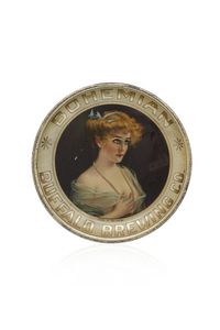 Buffalo Brewing Tip Tray, Lady with Pearls