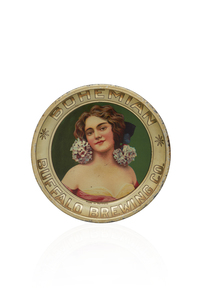 Buffalo Brewing Tip Tray, Lady with Hydrangea
