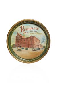Ruhstaller Beer Tray, Factory Scene