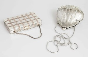 Judith Leiber Purse and Evans Double Sided Compact Clutch
