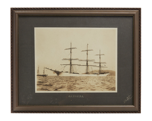 Archive of 19th c Ship Captain Martin A. Brandt