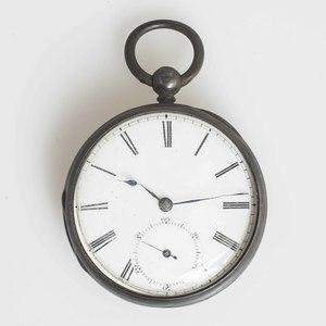 J.W. Benson, London Pocket Watch, Case by Beebe