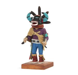 Hopi Black Ogre Kachina