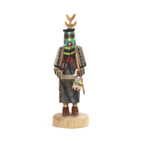 Hopi Earth God (also death and fire) Kachina