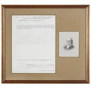 John Quincy Adams 1827 Land Grant