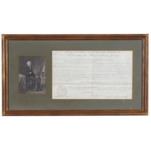 Andrew Jackson 1831 Land Grant