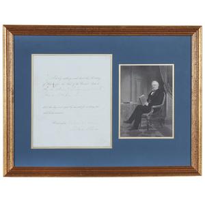 Millard Fillmore 1852 Conditional Pardon