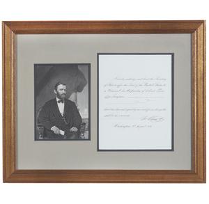 Ulysses S. Grant 1876 Presidential Pardon