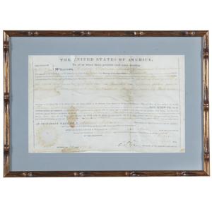 Millard Fillmore 1852 Land Grant