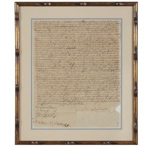 1759 Indentured Servant Document
