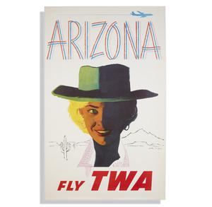 Austin Briggs TWA Arizona Poster