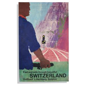 Gotthard Lotschberg Simplon Switzerland