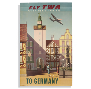 S. Greco TWA Germany Poster