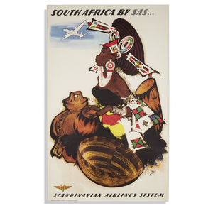 Otto Nielson SAS South Africa Poster