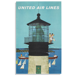 Stan Galli United Airlines Great Lakes Poster