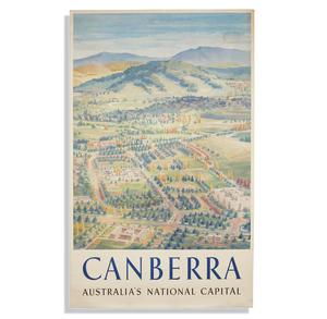 Charles Leski, Canbera Australia Poster