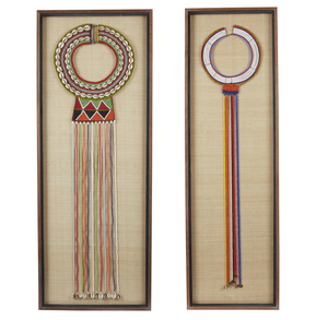 "Two Maasai, Kenya ""Enkarewa"" Wedding Necklace"