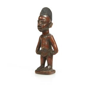 Yoruba, Nigeria Male Ibeji Figure