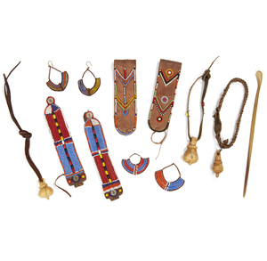 Assorted Beaded Items