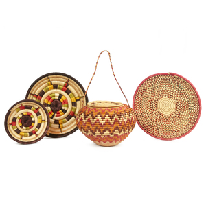 Assorted Baskets and Trays