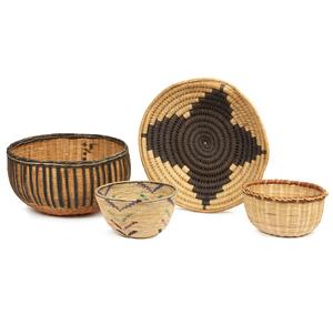 Hehe Iringa, Tanzania Basket, Luo, Kenya Basket, Korhogo or Fra Fra, Ivory Coast Basket, Matabele, Zimbabwe Basket