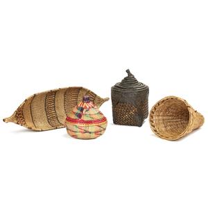 9 Tusyan or Turka, Nesting Wedding Baskets, Luo, Kenya Beer Strainer, Uganda Basket, Ethiopia