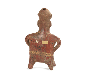 Nayarit, West Mexico Earthenware Figure, circa 200 BCE- 250 CE
