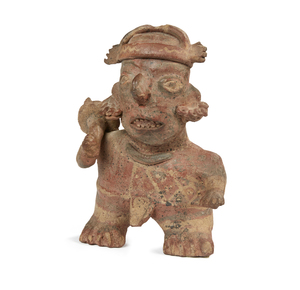 Nayarit Figure, West Mexico, circa 200 BCE – 250 CE.