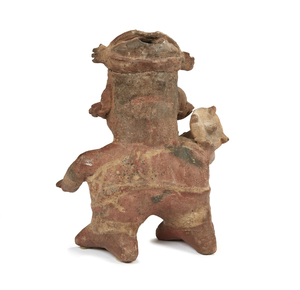 Nayarit Figure, West Mexico, circa 200 BCE – 250 CE.