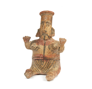 Jalisco Seated Figure, West Mexico, circa 200 BCE – 250 CE.