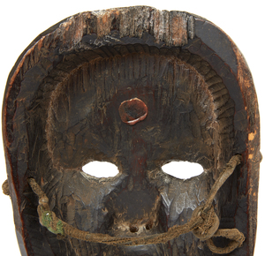 Himalayan or Nepal Hills Mask, late 19th/mid 20th century