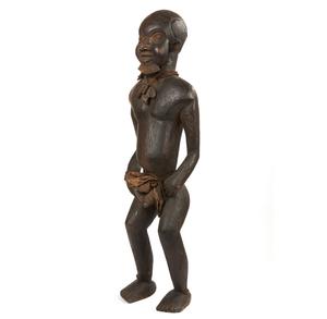 Cameroon Standing Wood Male Figure