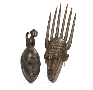 Baule Mask and Marka Mask