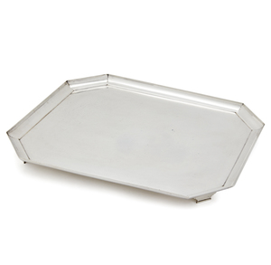 Silver Tray, Peter Guile, 143 ozt
