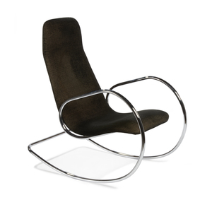 Ulrich Bohme Cantilever Rocking Chair 5-826 by Thonet
