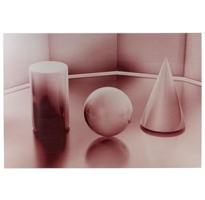 Ronald Davis (b. 1937) Fused Pixel Dust Aluminum,